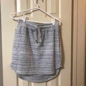 Xs casual sporty grey skirt by Banana Republic